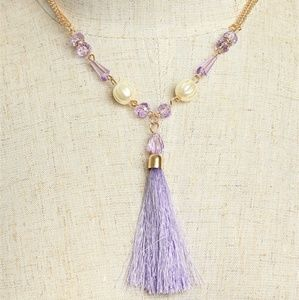 🌟2 For 25$🌟 Necklace with beads and tassel